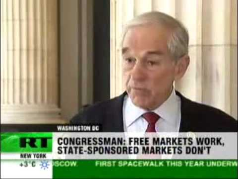 1/14/10 Ron Paul on Russia Today: US Wants Obedient Servants of the State